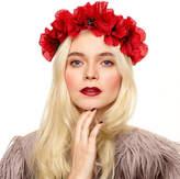 N. ROCK 'N ROSE Blair Poppy Crown Headband