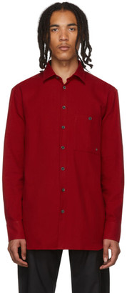 Études Red Portrait Shirt
