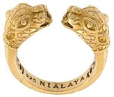Nialaya Jewelry panther ring