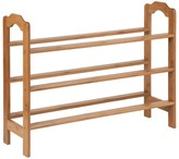 Honey-Can-Do 3-Tier Bamboo Shoe Rack