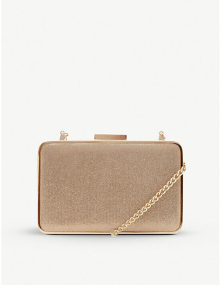 Dune Beaut metallic clutch