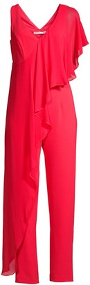 Trina Turk April Drape Jumpsuit
