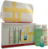Clarins My First Beauty Step 4Pc Cleansing Face And Eyes Kit