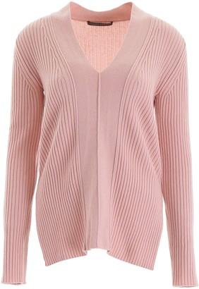 Alberta Ferretti Ribbed Sweater