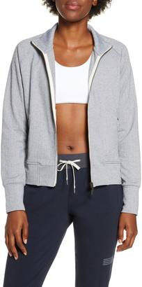 vuori Herringbone Performance Fleece Jacket