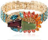 Anton Heunis Crystal Cluster Bracelet