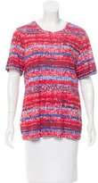 Tory Burch Printed Short-Sleeve T-Shirt