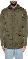 Aspesi Green Peschereccio Hooded Reverse Jacket