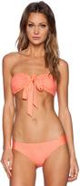Ella Moss Primrose Wrap Bandeau Bikini Top