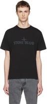 Stone Island Black Logo T-shirt