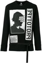Helmut Lang x Travis Scott prototype print sweatshirt - men - Cotton - M