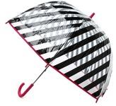 Kate Spade Black Stripe Umbrella