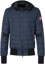 Canada Goose padded bomber jacket
