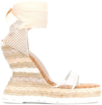 Sophia Webster Espadrille Wedge Sandals