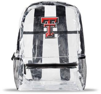 clear Texas Tech Red Raiders Team Logo School Bag