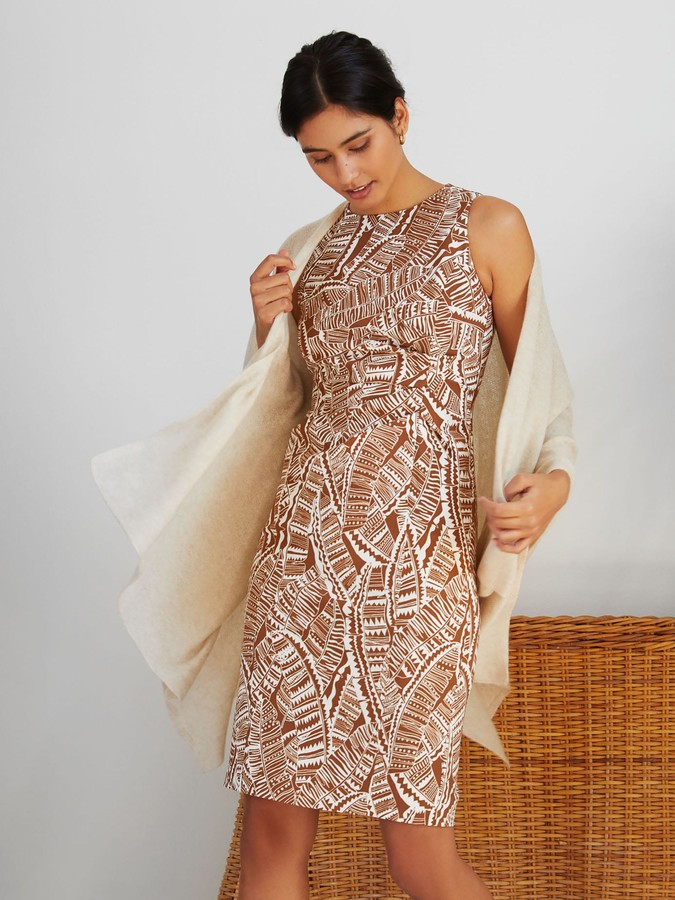 Thumbnail for your product : J.Mclaughlin Anne Dress in Geo Palm