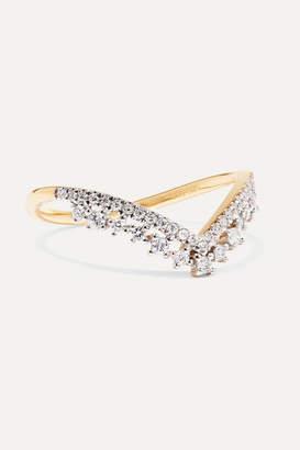 STONE AND STRAND - 14-karat Gold Diamond Ring