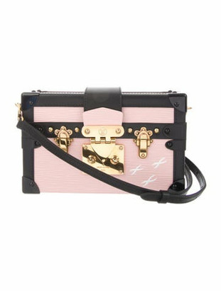 Louis Vuitton Epi Petite Malle Rose