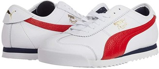 Puma Roma '68 Vintage White/High Risk Red) Men's Shoes