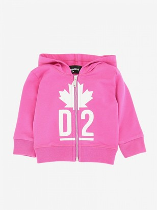 Dsquared2 Junior Sweatshirt With Hood And Zip