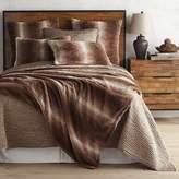 Pier 1 Imports Faux Fur Ombre Sable Blanket & Sham