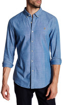 Farah Stampton Long Sleeve Slim Fit Shirt