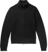 Todd Snyder Stretch Wool-Blend Zip-Up Sweater
