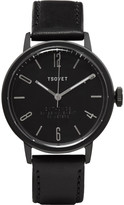 Tsovet - Svt-cn38 38mm Stainless Steel And Leather Watch