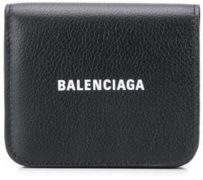 Balenciaga Leather Flap Wallet