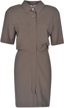 Nanushka Slim Waist Shirt Dress