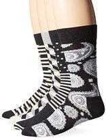 Happy Socks Men's Combed Cotton Socks Gift Box, Pack of 4