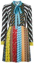 Mary Katrantzou Animal Ties Knight dress - women - Polyester - 12