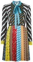 Mary Katrantzou Animal Ties Knight dress - women - Polyester - 8