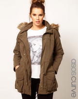 Asos Oversized Hooded Parka