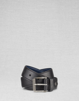 Belstaff Bowmont Belt Brass/Dark Brown