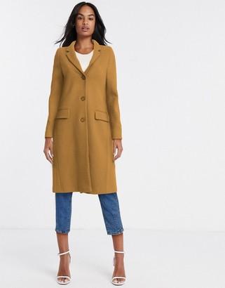 Helene Berman college coat in beige