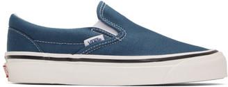 Vans Blue Classic Slip-On 98 DX Anaheim Factory Sneakers