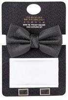 Burton Mens Black Bow Tie Gift Set