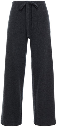 Vince Brushed Wool And Cashmere-blend Wide-leg Pants