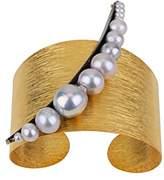 Katerina Psoma Women's Grey Pearls Vintage Bracelet