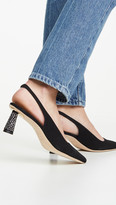 BY FAR Diana Slingback Pumps