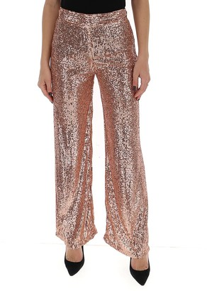 L'Autre Chose Sequin Embellished Trousers
