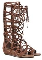 Carlos by Carlos Santana Women's Kalee Tall Gladiator Sandal