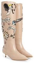 Valentino Women's Twisteel Stiletto Bootie