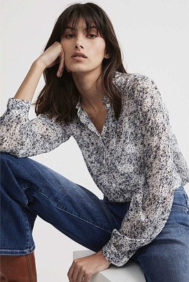 Witchery Floral Georgette Blouse