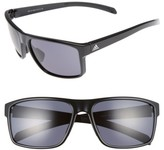 adidas Women's Whipstart 61Mm Sunglasses - Shiny Black/ Grey