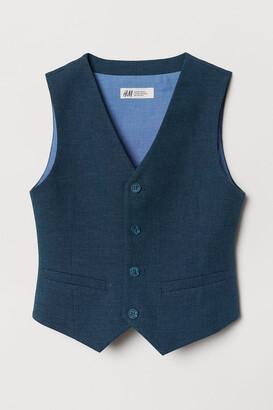 H&M Linen-blend Suit Vest