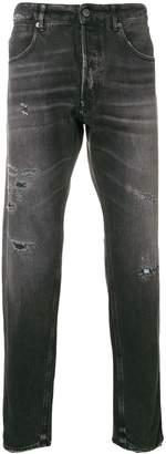 Golden Goose distressed straight-leg jeans