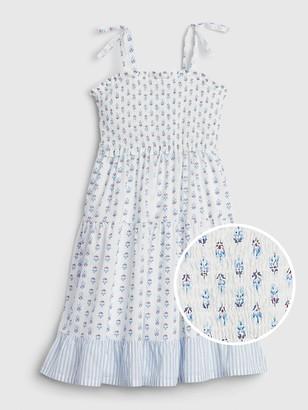 Gap Kids Bow-Tie Pattern Dress