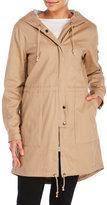 Lush Hooded Military Jacket